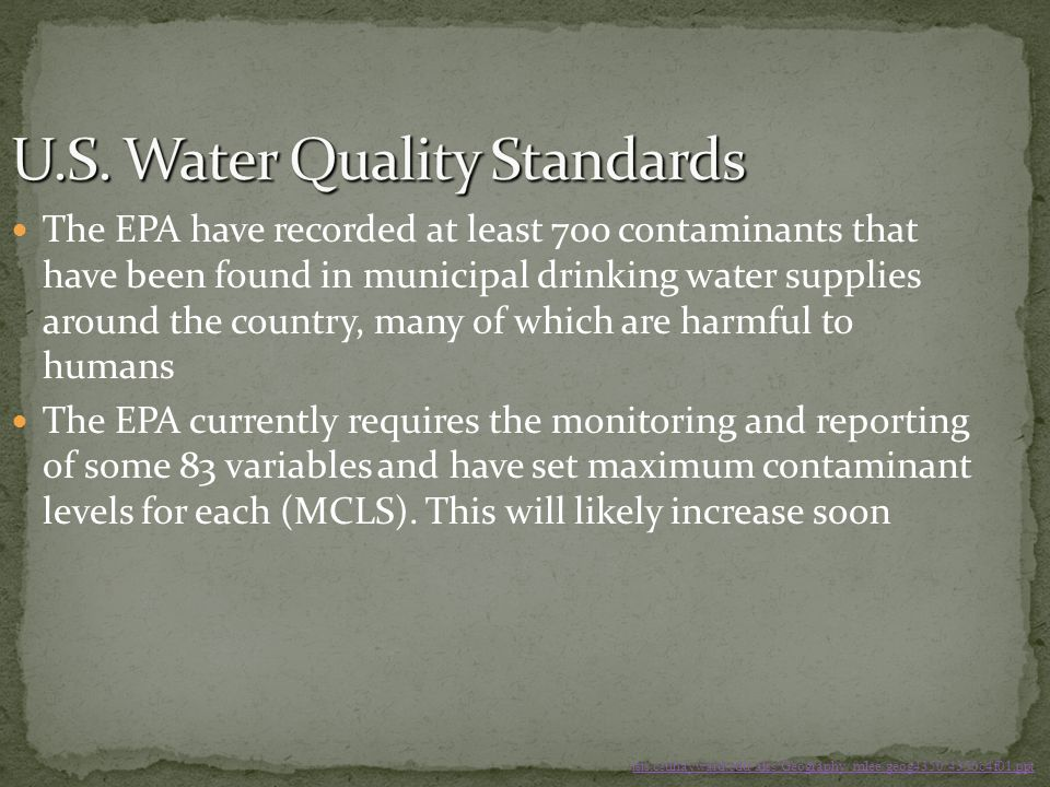 U.S. Water Quality Standards