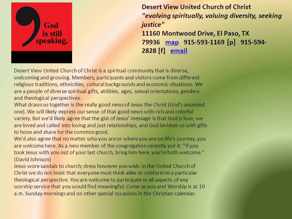 Desert View United Church of Christ