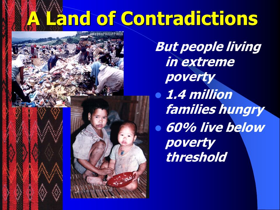 A Land of Contradictions