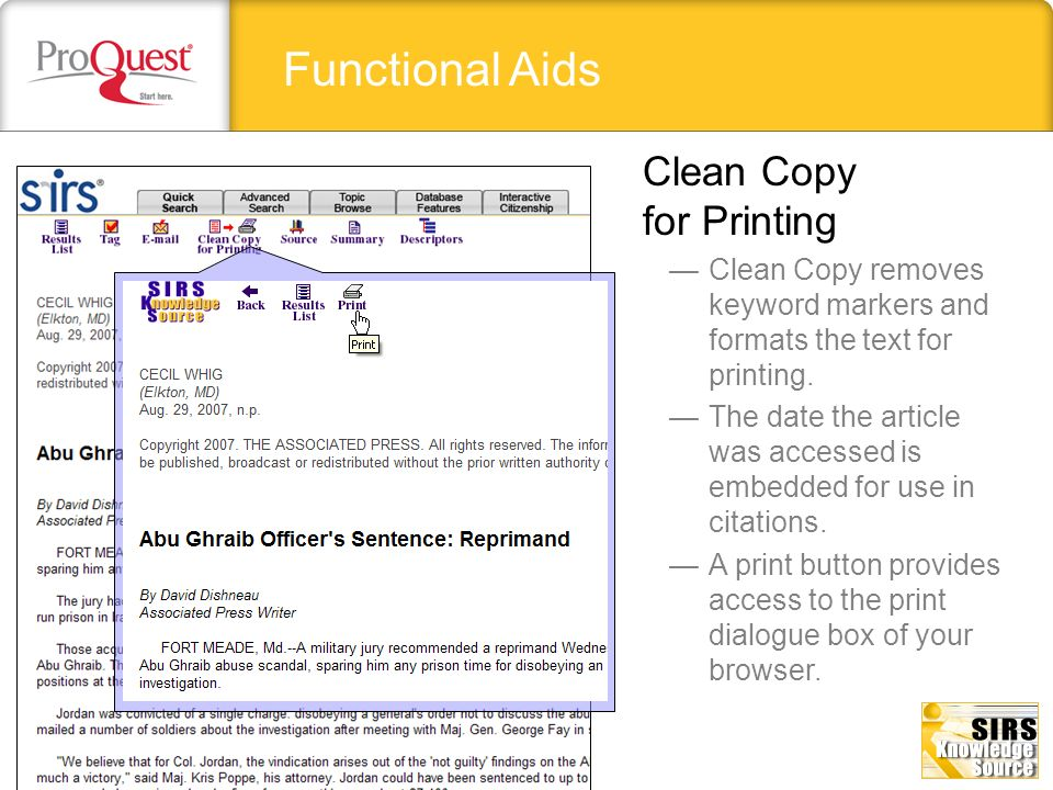 Functional Aids Clean Copy for Printing