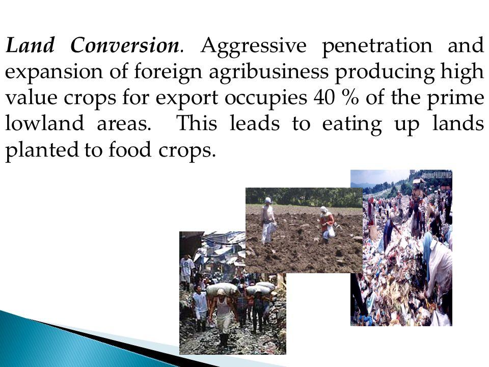 Land Conversion.