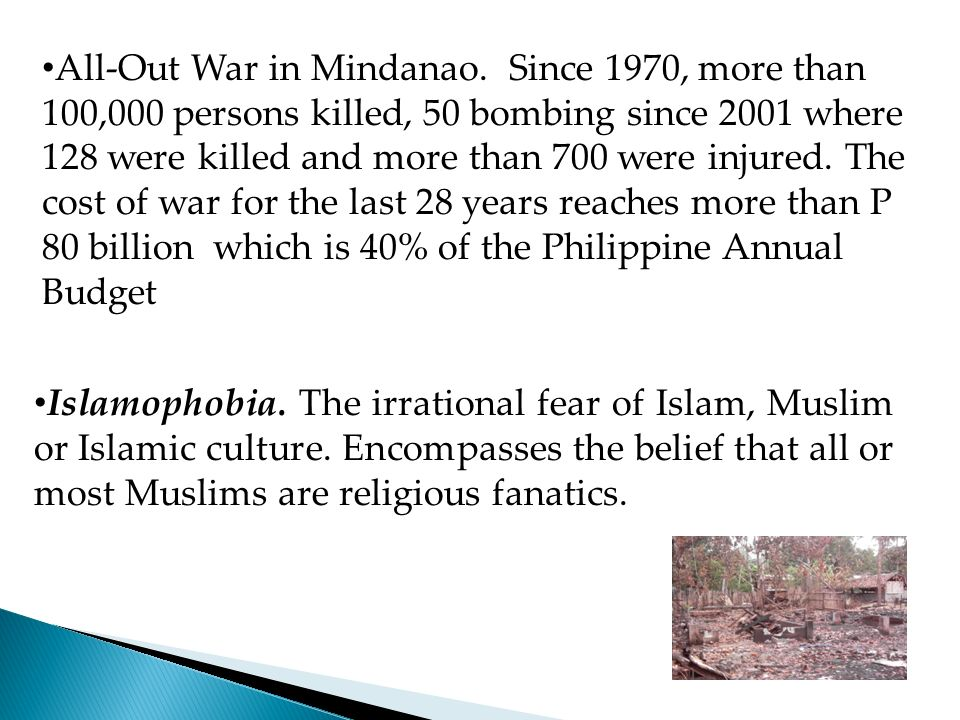 All-Out War in Mindanao