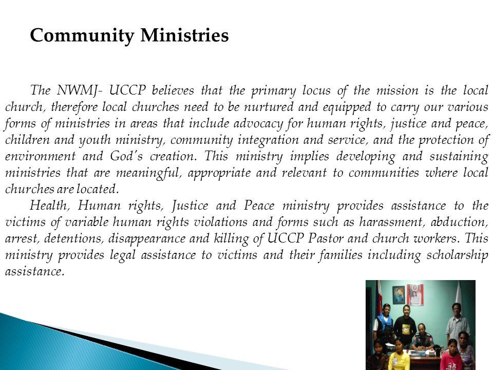 Community Ministries