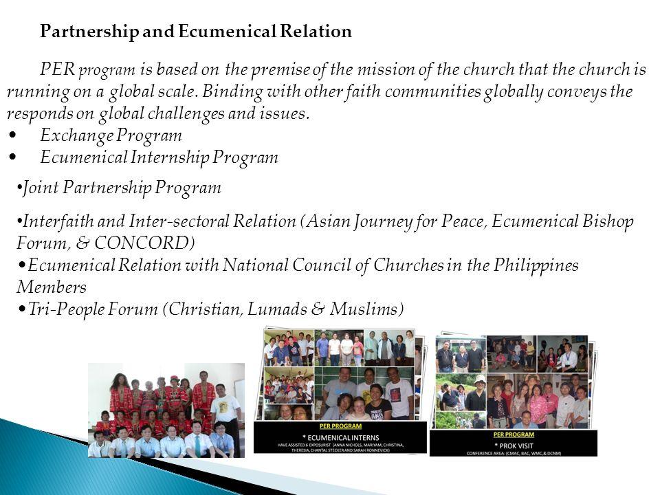 Partnership and Ecumenical Relation