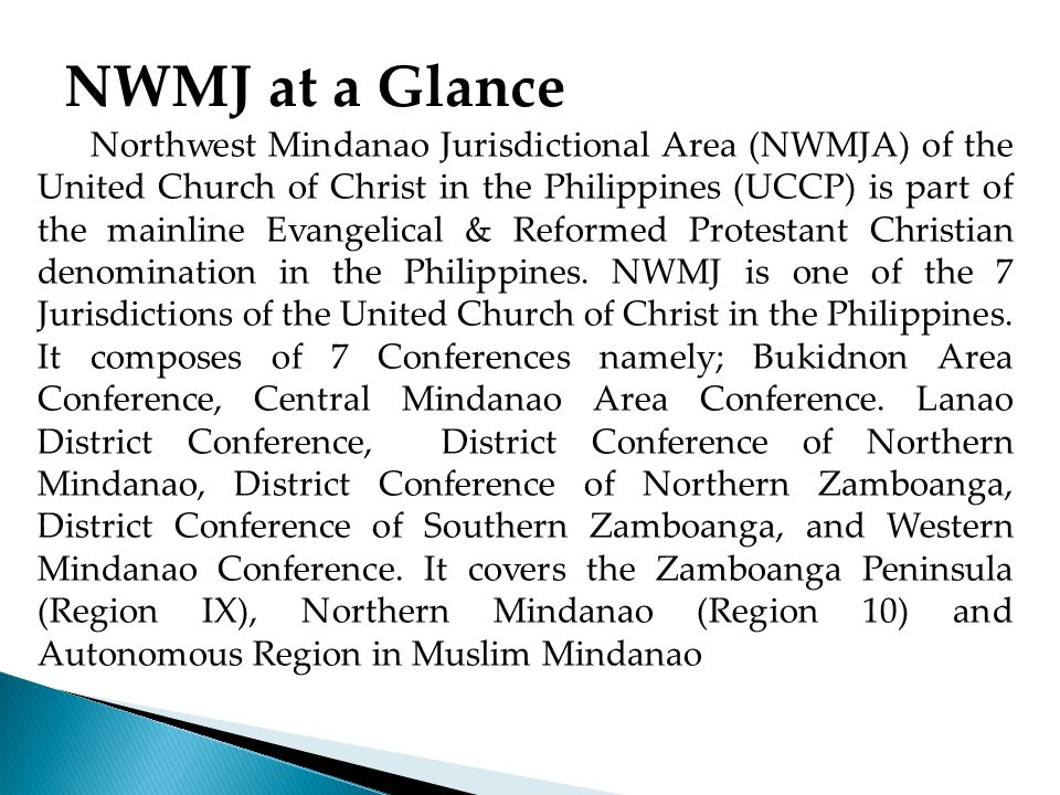 NWMJ at a Glance
