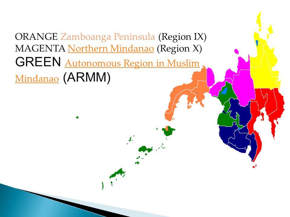 GREEN Autonomous Region in Muslim Mindanao (ARMM)