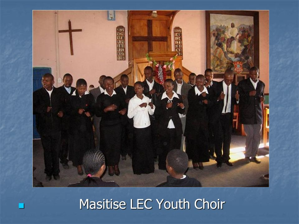 Masitise LEC Youth Choir