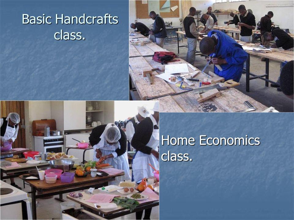 Basic Handcrafts class.