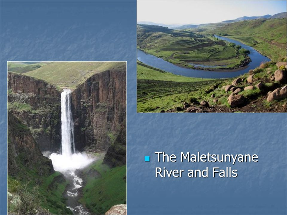 The Maletsunyane River and Falls