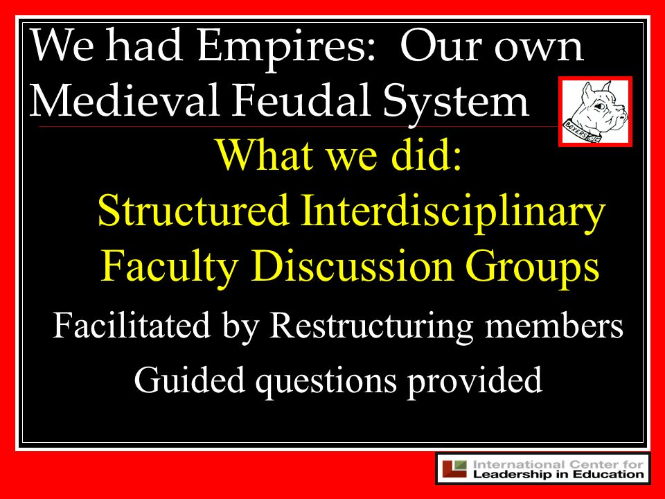 We had Empires: Our own Medieval Feudal System