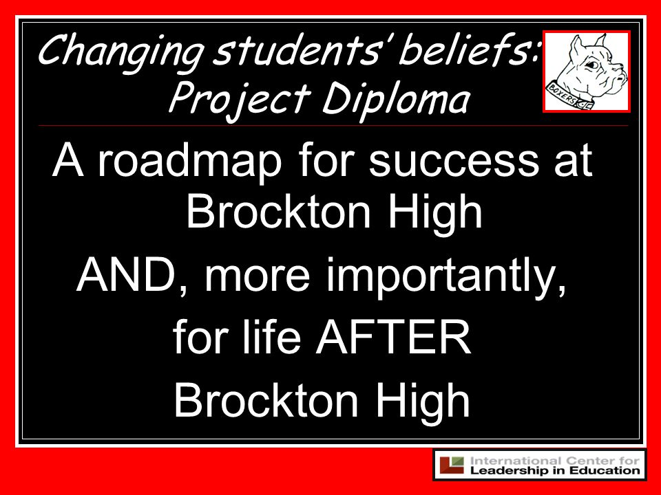 A roadmap for success at Brockton High