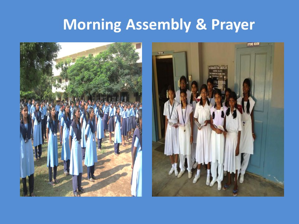 Morning Assembly & Prayer