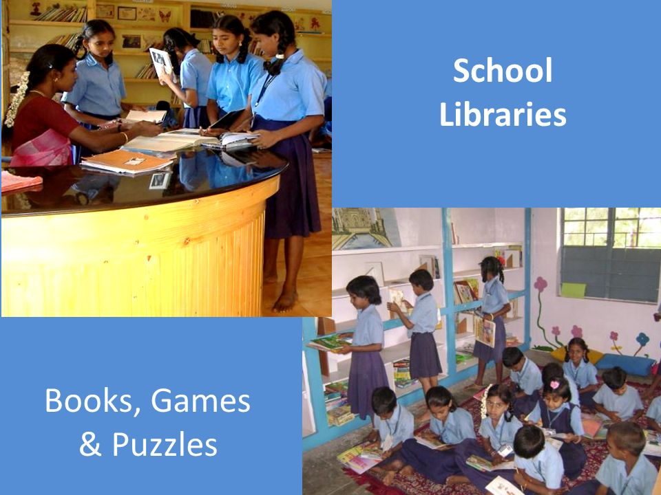 School Libraries Books, Games & Puzzles