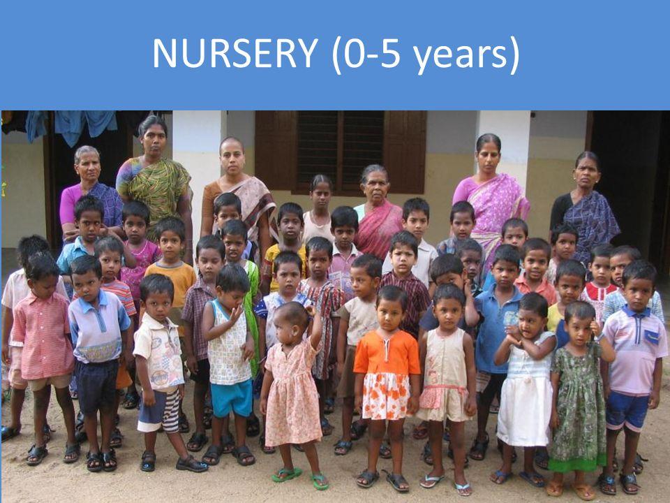 NURSERY (0-5 years)