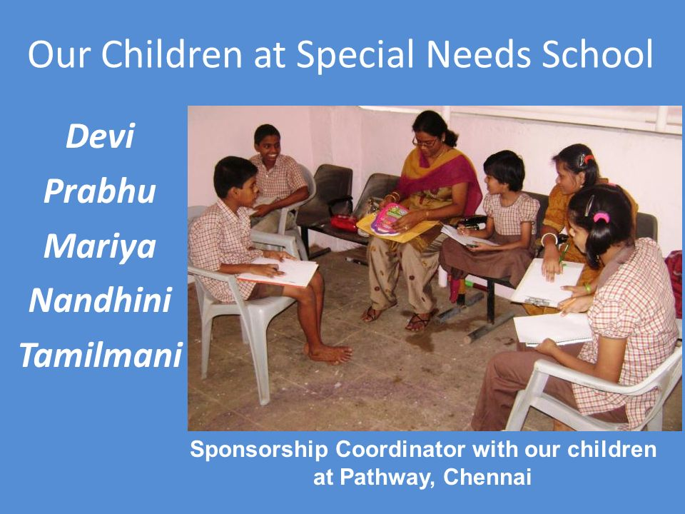 Our Children at Special Needs School