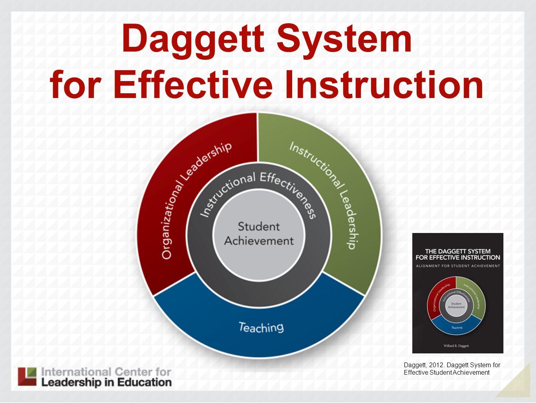Daggett System for Effective Instruction