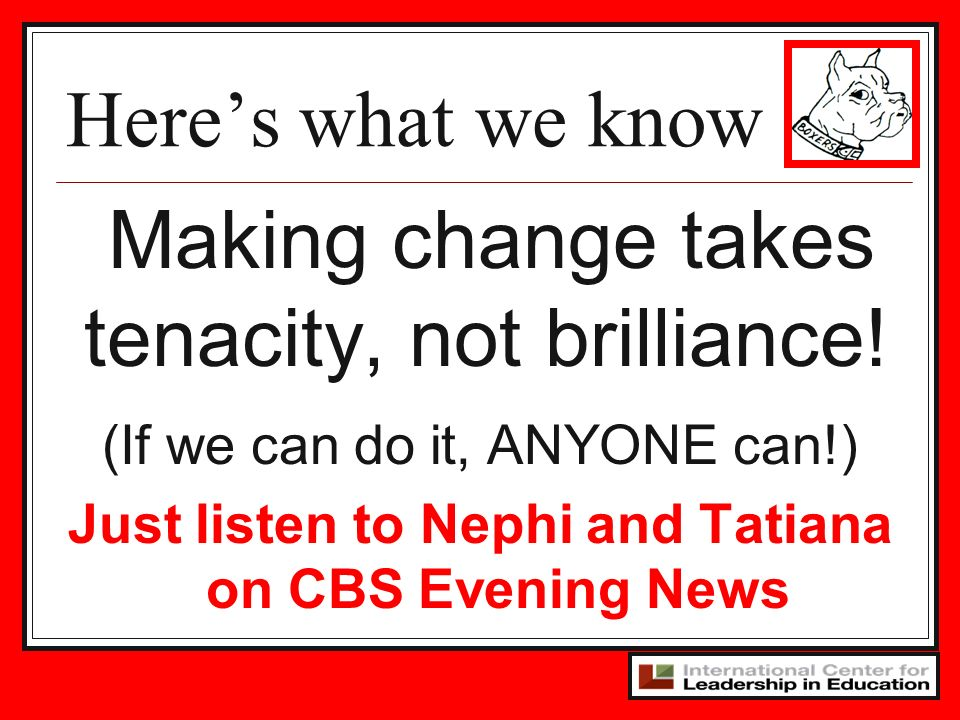Just listen to Nephi and Tatiana on CBS Evening News