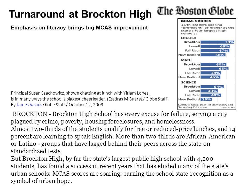 Turnaround at Brockton High