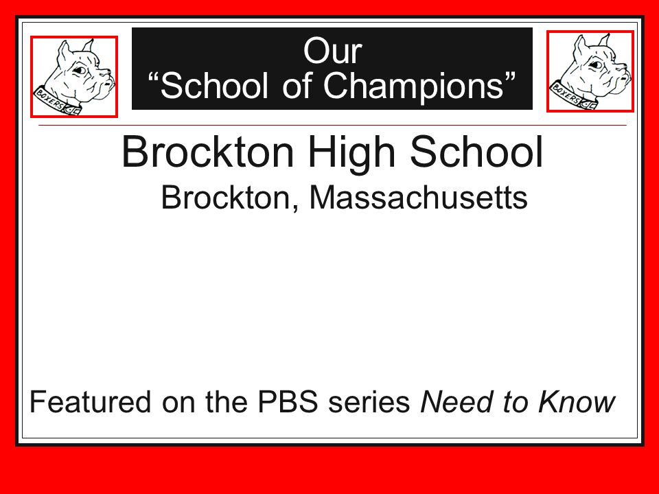 Our School of Champions