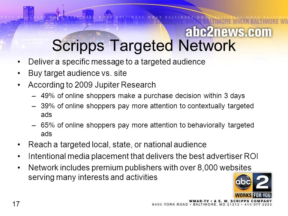 Scripps Targeted Network