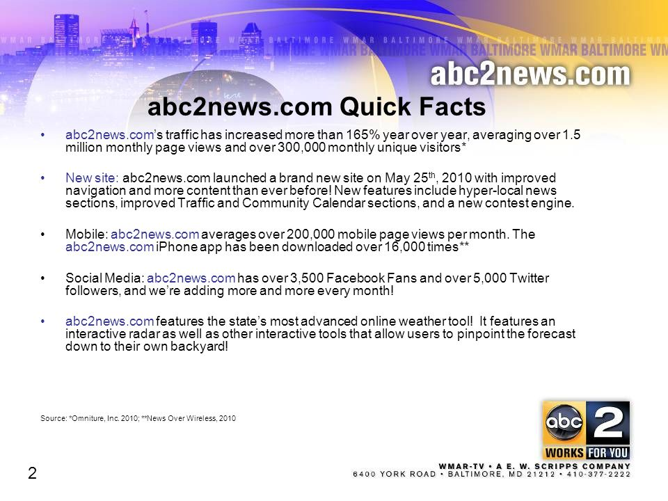 abc2news.com Quick Facts