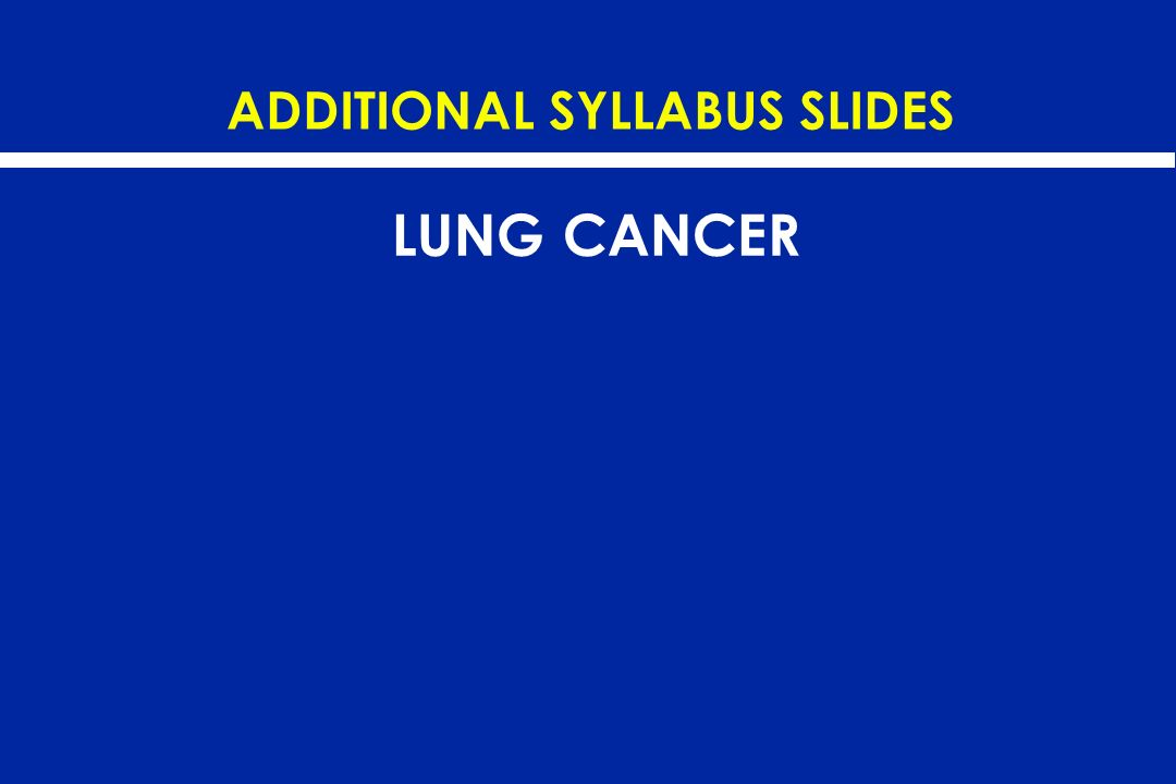ADDITIONAL SYLLABUS SLIDES