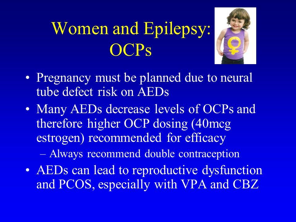 Women and Epilepsy: OCPs