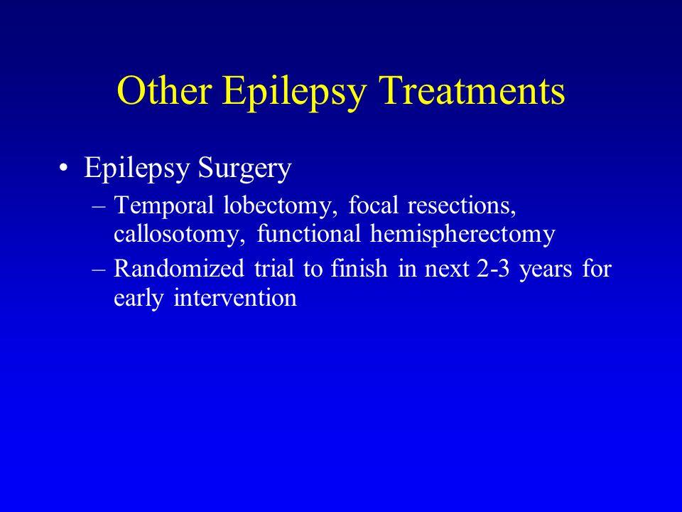 Other Epilepsy Treatments