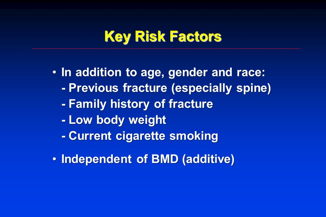 Key Risk Factors
