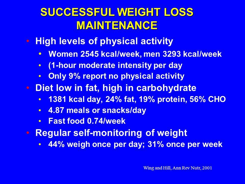 SUCCESSFUL WEIGHT LOSS MAINTENANCE