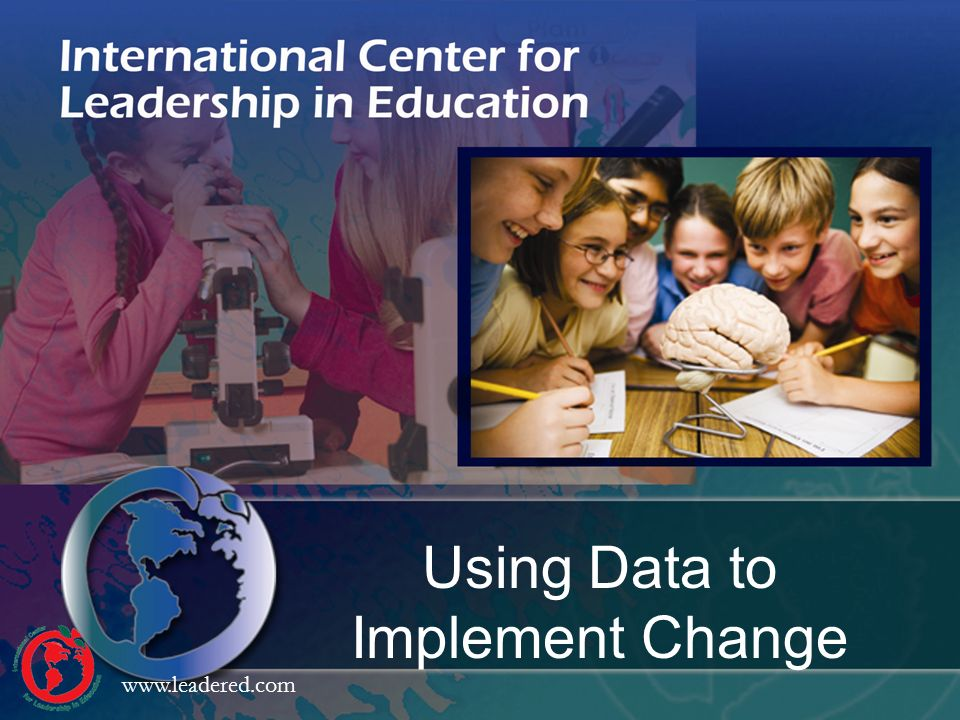 Using Data to Implement Change