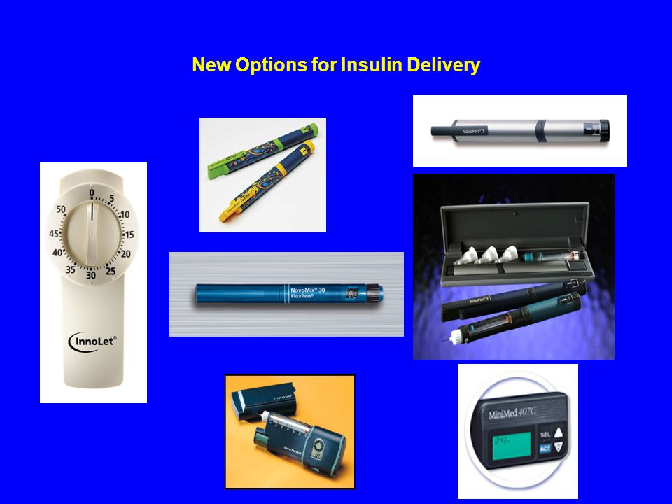 New Options for Insulin Delivery