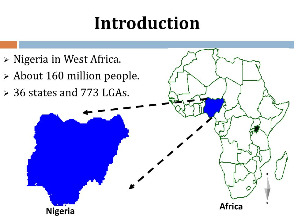 Introduction Nigeria in West Africa. About 160 million people.