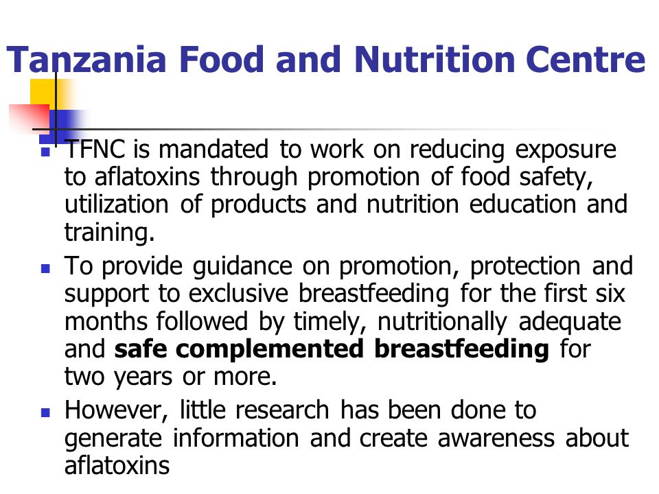 Tanzania Food and Nutrition Centre