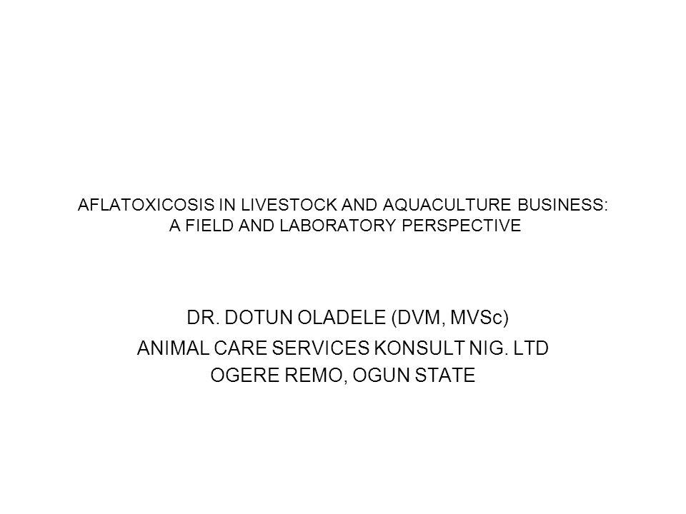 DR. DOTUN OLADELE (DVM, MVSc)