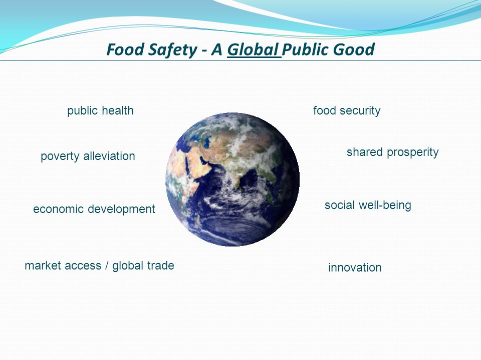 Food Safety - A Global Public Good