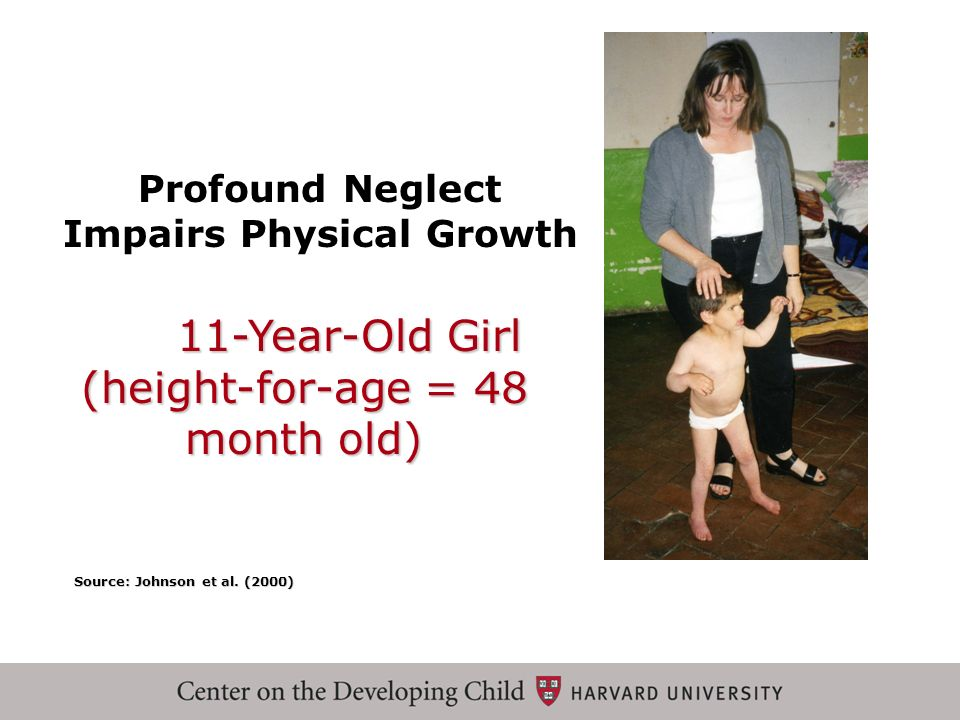 Profound Neglect Impairs Physical Growth