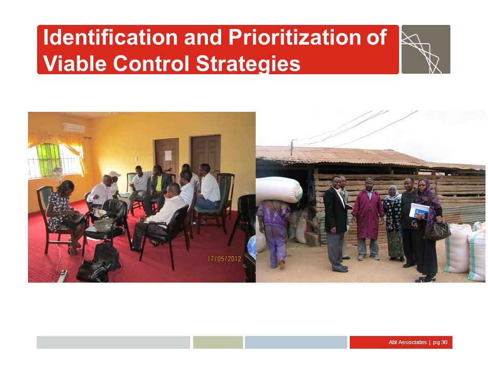Identification and Prioritization of Viable Control Strategies