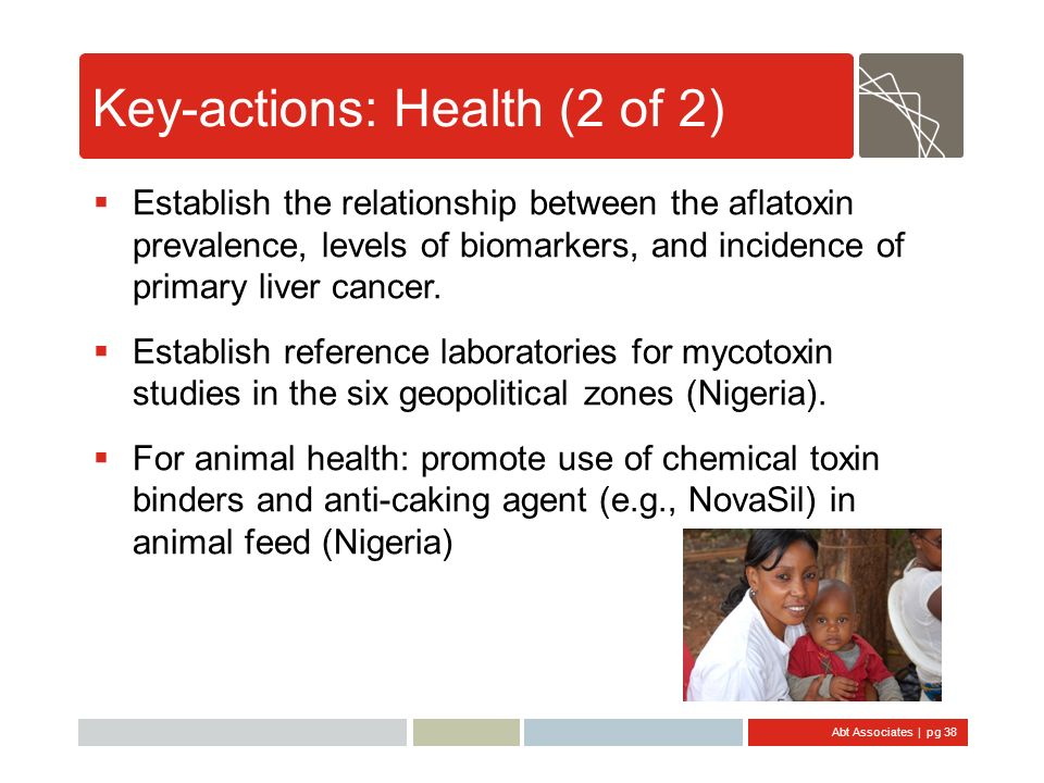 Key-actions: Health (2 of 2)