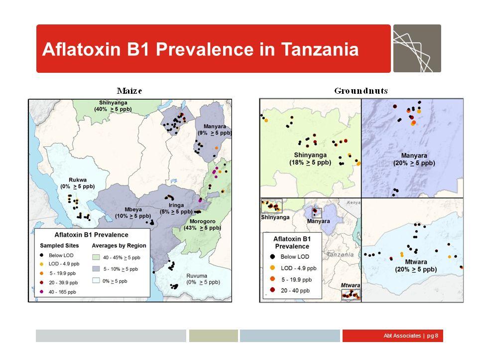 Aflatoxin B1 Prevalence in Tanzania