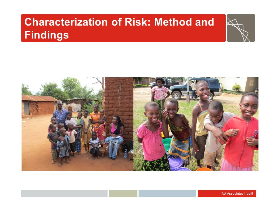Characterization of Risk: Method and Findings
