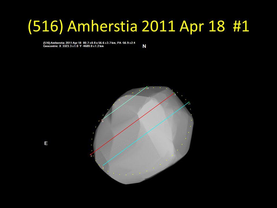 (516) Amherstia 2011 Apr 18 #1