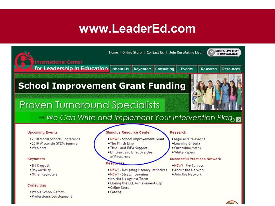 www.LeaderEd.com