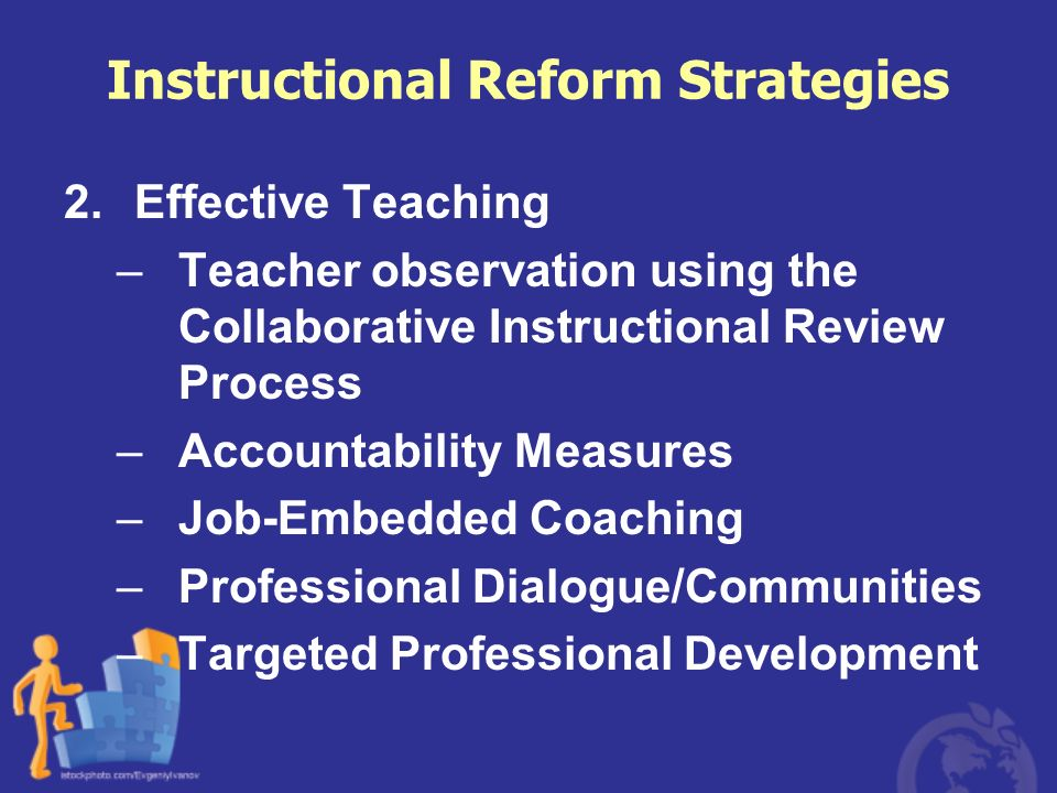 Instructional Reform Strategies