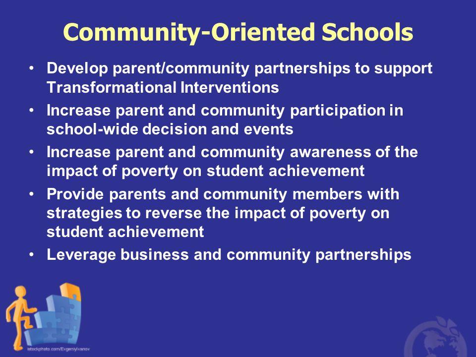 Community-Oriented Schools
