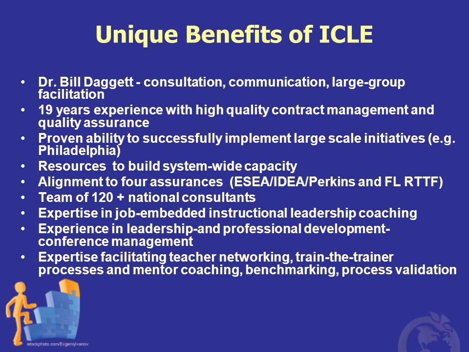 Unique Benefits of ICLE