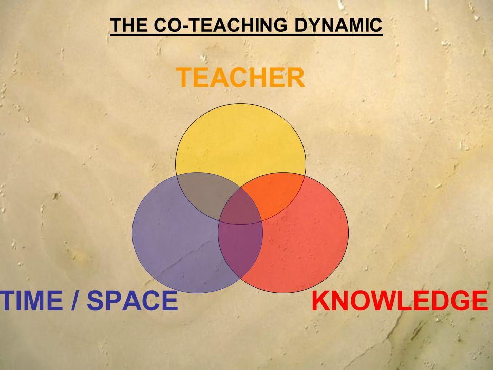 THE CO-TEACHING DYNAMIC