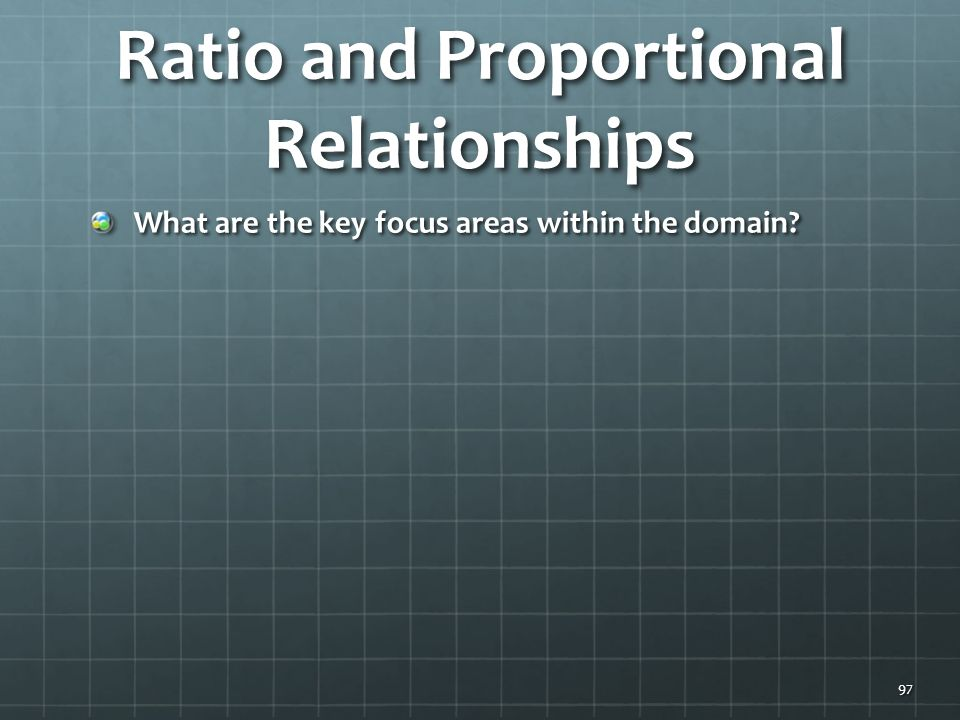 Ratio and Proportional Relationships