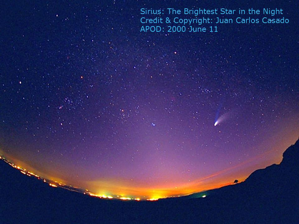 Sirius: The Brightest Star in the Night