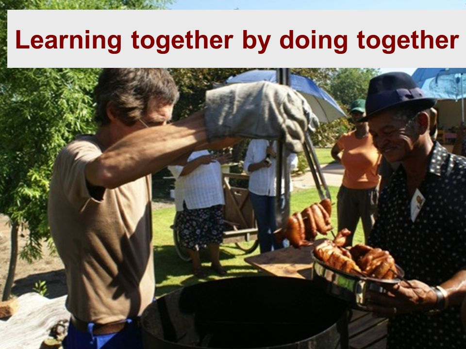 Learning together by doing together